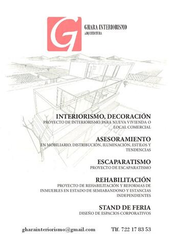 INTERIORISTA,  ARQUITECTURA Y DISEÑO - foto 2