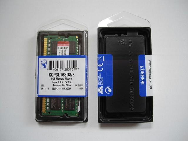 MEMORIAS 8 GB. DDR3. PARA PORTÁTILES, KINGS - foto 1