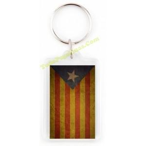 Llavero Estelada Cataluña Camiseta Pegat