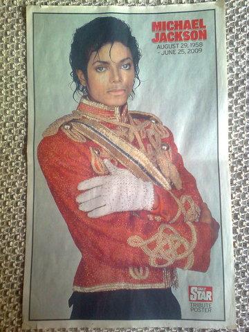 Super Poster Michael Jackson