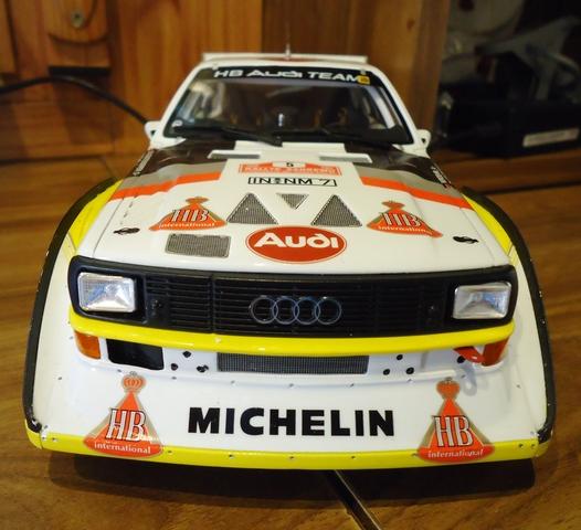 Audi S1 Quattro Rallye San Remo Otto1:18