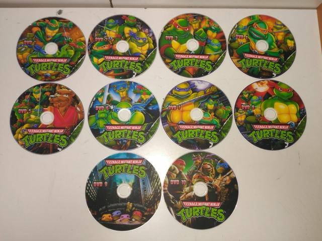 PACK SERIE LAS TORTUGAS NINJA DVD - foto 2