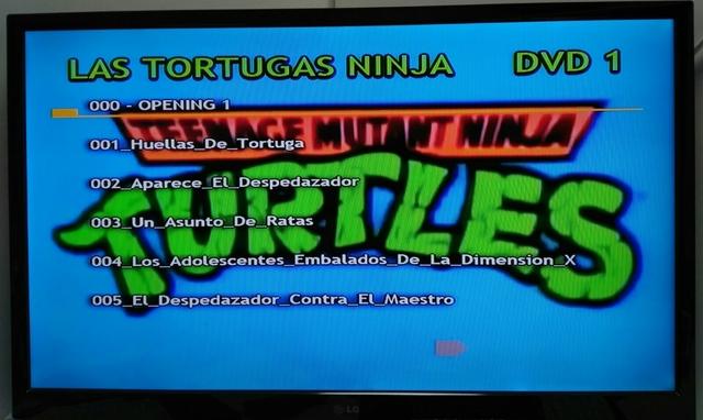 PACK SERIE LAS TORTUGAS NINJA DVD - foto 3