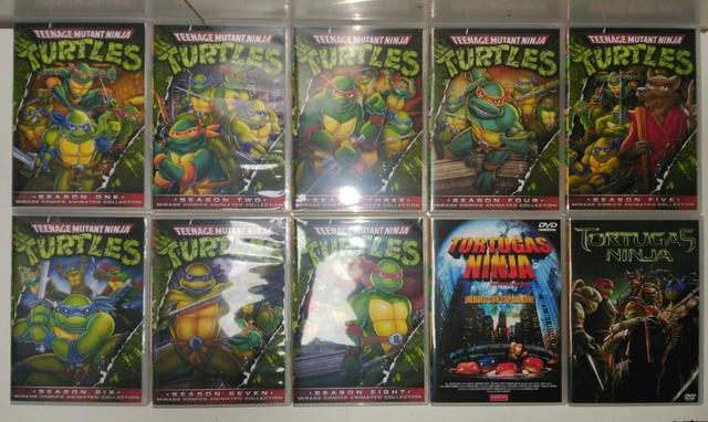 PACK SERIE LAS TORTUGAS NINJA DVD - foto 4