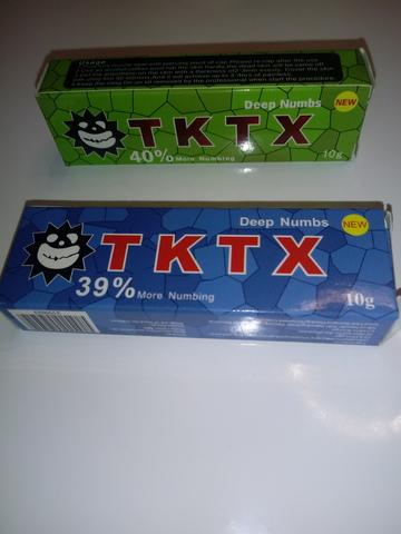 CREMA ANESTESICA TKTX 40% Y 39% - foto 1