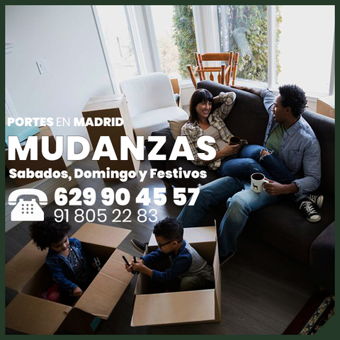 MUDANZAS PORTES ECONOMICOS EN MADRID - foto 2