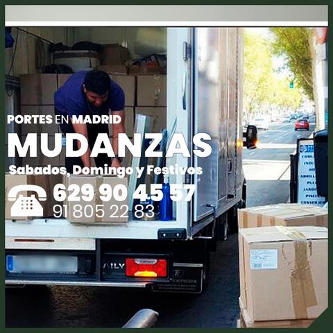 MUDANZAS PORTES ECONOMICOS EN MADRID - foto 3