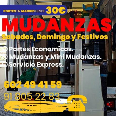MUDANZAS PORTES ECONOMICOS EN MADRID - foto 4