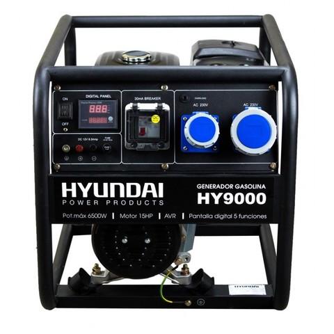 GENERADOR GASOLINA HY9000  6. 5KW 15HP - foto 1