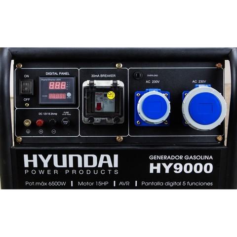 GENERADOR GASOLINA HY9000  6. 5KW 15HP - foto 3