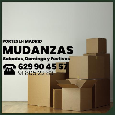 MUDANZAS EN MADRID Y PORTES CON ELEVADOR - foto 3