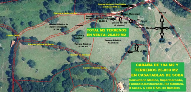 CABAÑA+TERRENOS 2´6HC. A 6KM. DE RAMALES - foto 8