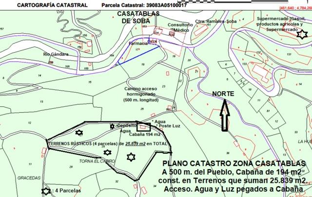 CABAÑA+TERRENOS 2´6HC. A 6KM. DE RAMALES - foto 9