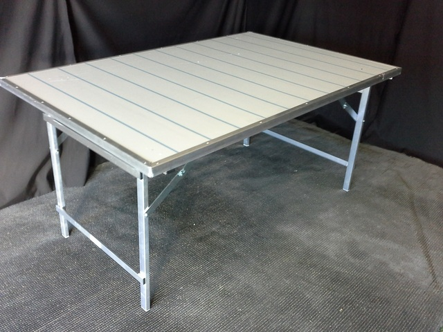 Aluminio Para Mesas De Mercadillo gIbyf7Y6v