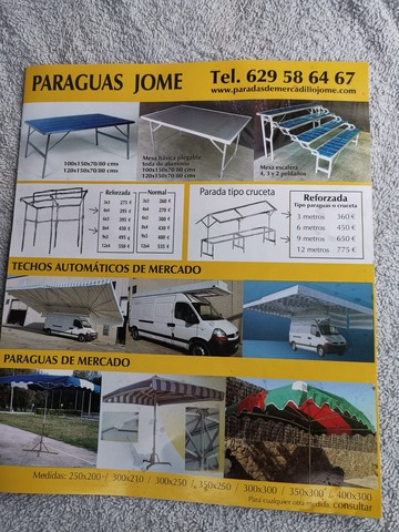 PARADAS DE MERCADILLO JOME - foto 8