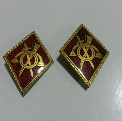 Insignias Rombos Infanteria