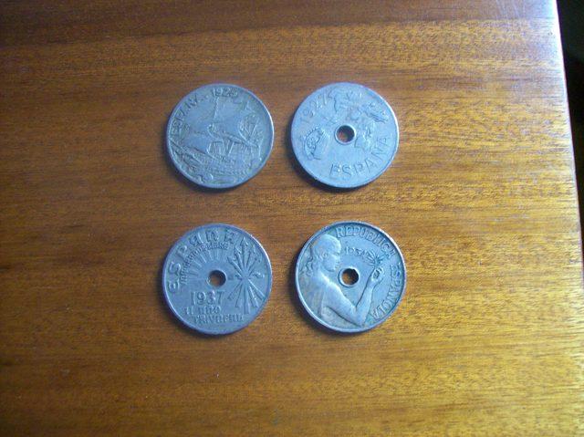 Lote Monedas España