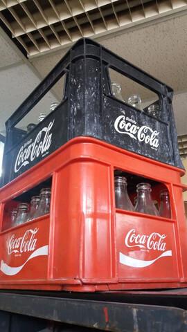 Caja Botellas  Coca Cola