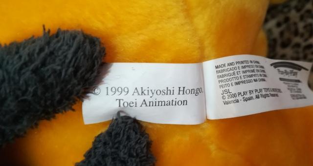 PELUCHE GREYMON GIGANTE 1999 - foto 6