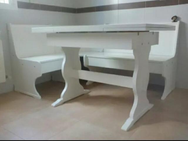 MIL ANUNCIOS.COM - Mesa rinconera. Muebles de cocina mesa ...