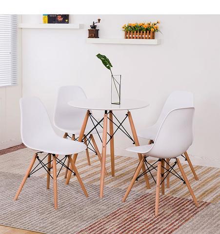 mesa redonda 80 con sillas baratas
