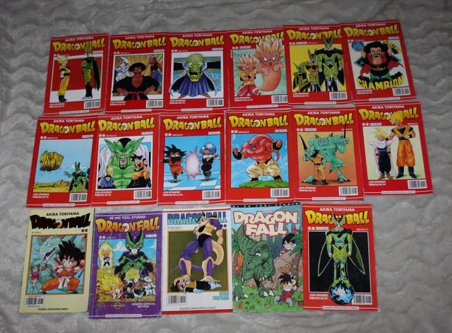 Lote 17 Comics Dragon  Ball