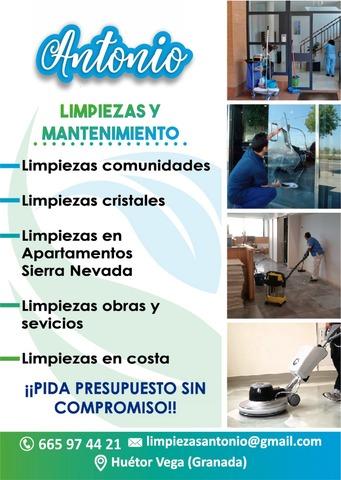 LIMPIEZA Y MANTENIMIENTO ANTONIO - foto 1