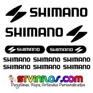 VINILO SHIMANO BICICLETA CUADRO STICKER - foto 1