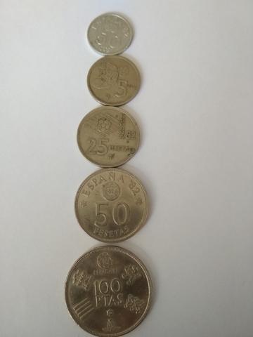 Monedas Españolas (Mundial 82)