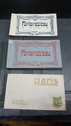 Lote 3 Librillos París Y Fontainebleau