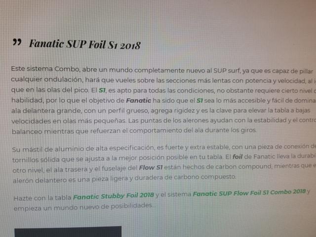 SUP FANATIC STUBBY FOIL EDITION + FOIL - foto 3