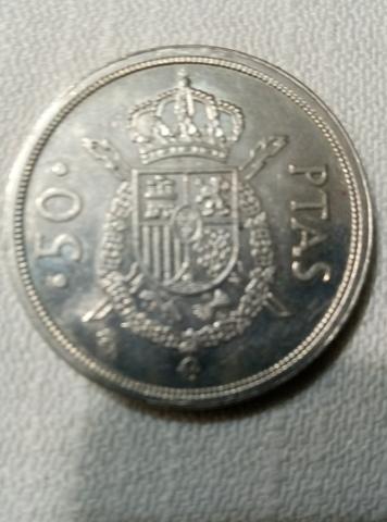 Moneda 50 Pts.  Juan Carlos I  S/C