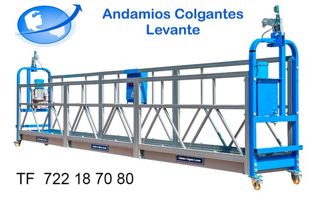 ANDAMIOS COLGANTES ELECTRICOS 6 MTS - foto 1