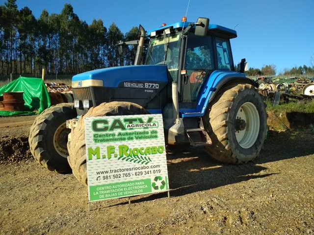 NEW HOLLAND FORD - 8770 DT  8770EDT - foto 1
