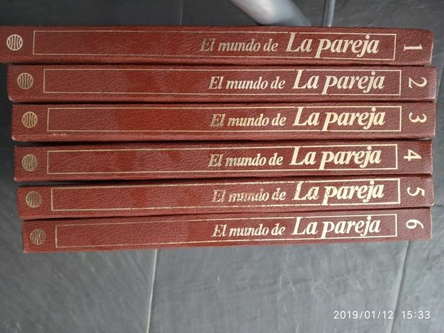"ENCICLOPEDIA \""EL MUNDO DE LA PAREJA\"" - foto 1"