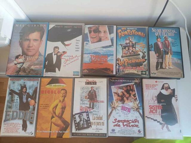 COLECCION DE TÍTULOS  VHS - foto 1