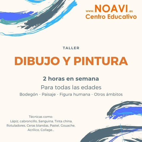 ONLINE TALLER DE DIBUJO Y PINTURA - foto 1