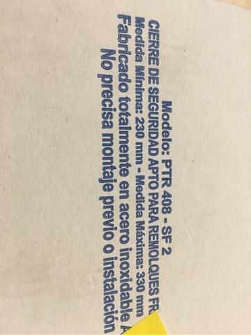 CANDADADO SEGURIDAD PTR-408 INOXIDABLE - foto 6
