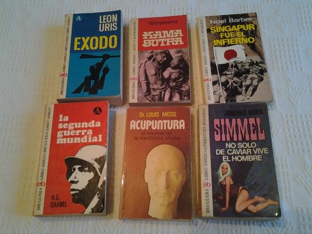 LOTE DE 6 LIBROS POR 15  EN TOTAL - foto 1