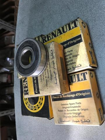 18 14 12 Renault 4 fuego kit rodamientos de rueda trasera nos SNR 16 6 15 5