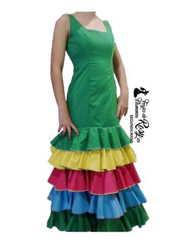 34360e2ac MIL ANUNCIOS.COM - Traje flamenca niña malaga Segunda mano y ...