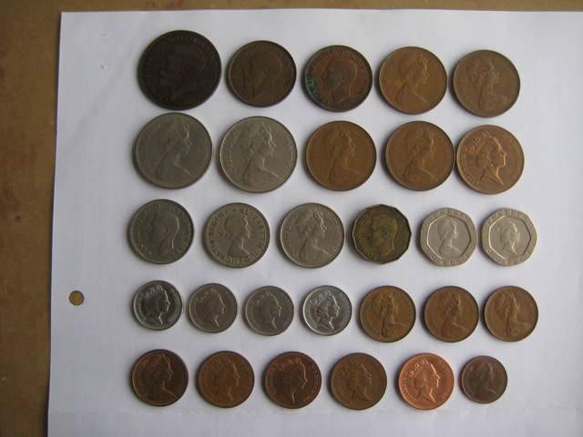 Vendo Monedas De G.Bretaña.