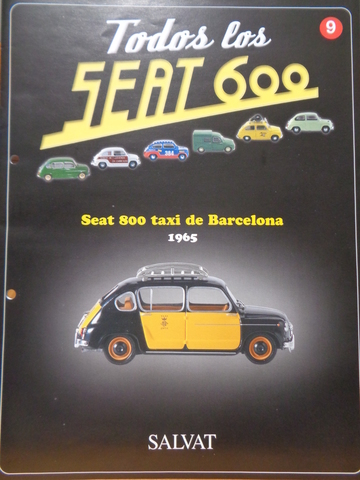 Seat 800 Taxi De Barcelona