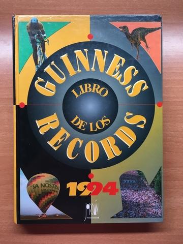 LIBRO GUINNESS DE LOS RECORDS 1994 - foto 1