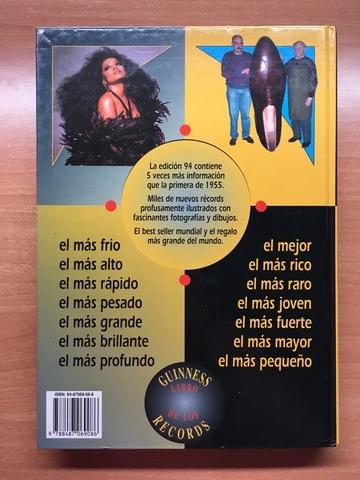 LIBRO GUINNESS DE LOS RECORDS 1994 - foto 2