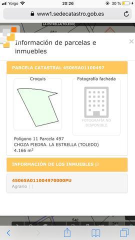 TERRENO RÚSTICO CONSTRUIR TOLEDO - foto 1