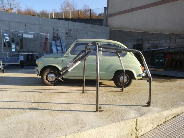 BARRAS ANTIVUELCO PARA PANDA RAID. . OASIS RAID - BARRAS - foto 1