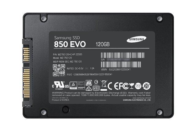 DISCO DURO SSD 120GB SATA III SAMSUNG - foto 1