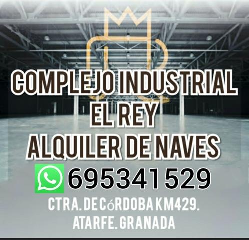 NAVES.  COMPLEJO INDUSTRIAL EL REY - foto 1