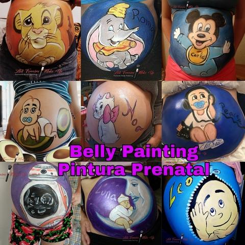BELLY PAINTING.  PINTURA PRENATAL - foto 1